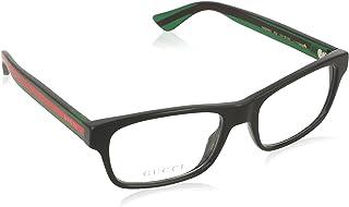 Gucci GG0006O Plastic Rectangle Eyeglasses 2 Sizes