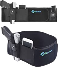 Belly Band Holster for Concealed Carry - Breathable Neoprene Waist Holster for Men and Women - Fits Glock, Ruger LCP, S&W M&P 40 Shield Bodyguard, Sig Sauer, Ruger, Kahr, Beretta, 1911, etc