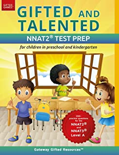 Gifted and Talented NNAT Test Prep: Gifted test prep book for the NNAT; Workbook for children in preschool and kindergarten (Gifted Games)