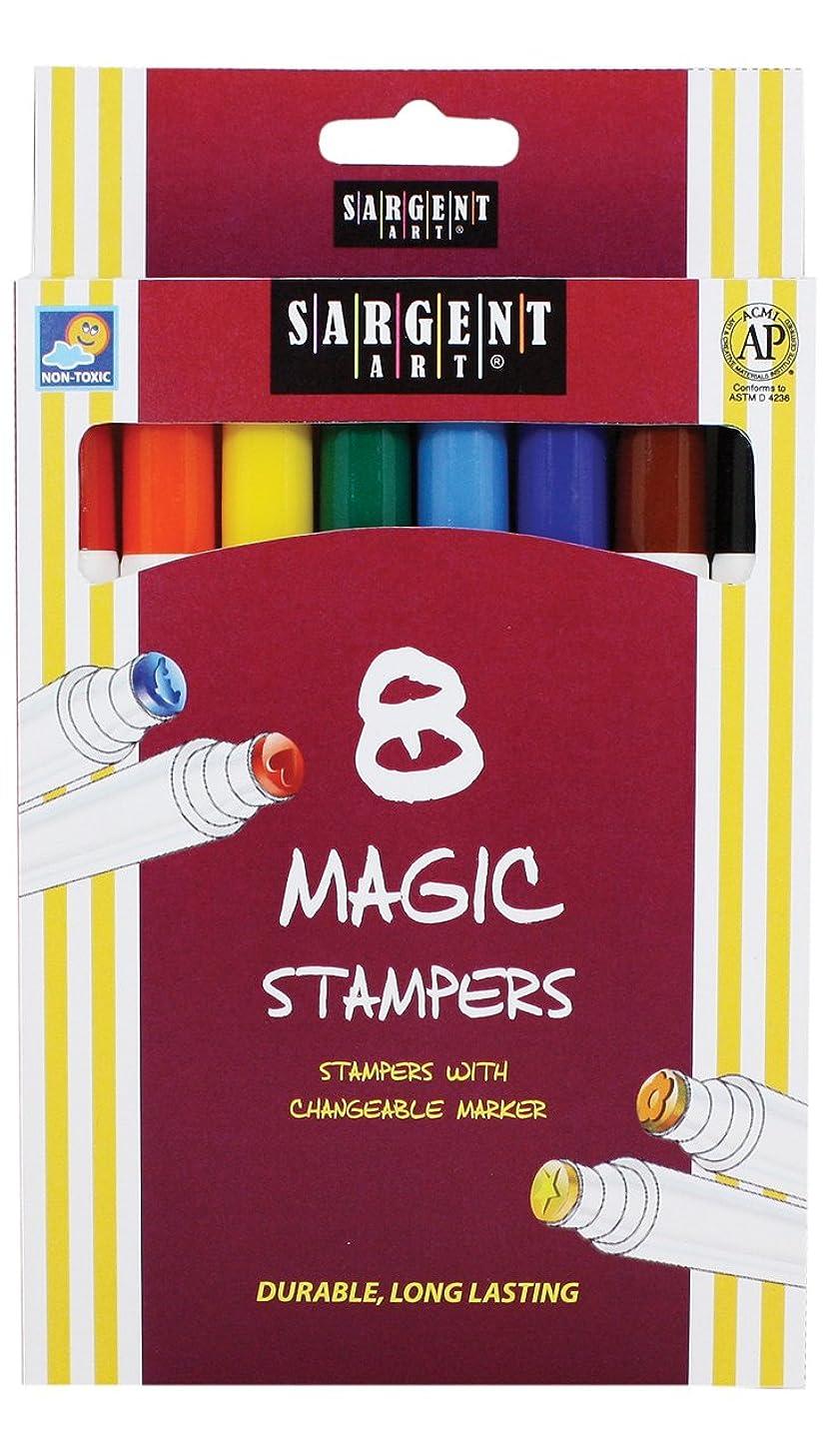 Sargent Art 22-1505 8-Count Magic Stamper Markers