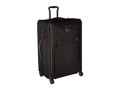 Tumi Alpha 3 Medium Trip Expandable 4 Wheeled Packing Case (Black) Luggage