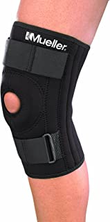 Mueller Sports Medicine Patella Stabilizer Knee Brace, Small, Black, 1-Count Package