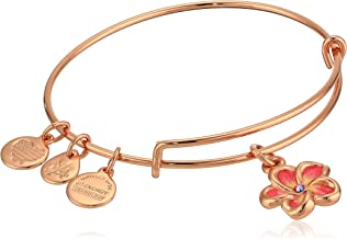 Alex and Ani Womens Color Infusion Tropical Flower Bangle