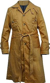 PriceRight Men's Rick Deckard 2049 Brown Cotton Cosplay Costume Trench Long Coat