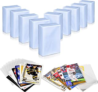 1000 Top Loaders Penny Sleeves Compatible with Basball Card, Football Cards, Trading Card, Soft Clear Card Sleeves Saver P...