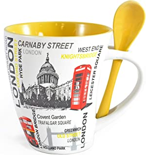 Sterling Product SP129D Coffee Mug, Ceramic, 320 milliliters
