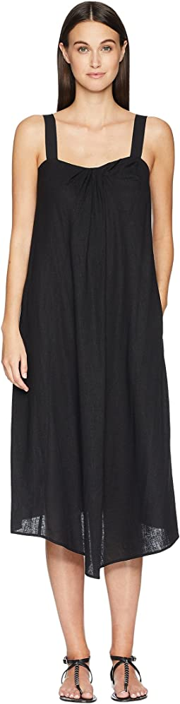 Drape Neck Dress