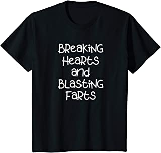 Kids Breaking Hearts And Blasting Farts Toddler Shirt Funny Kids