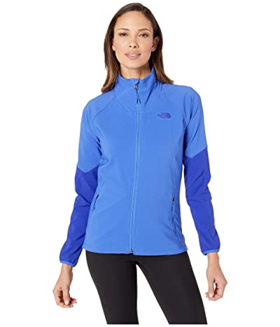 The North Face Apex Nimble Jacket (Dazzling Blue/Aztec Blue) Women