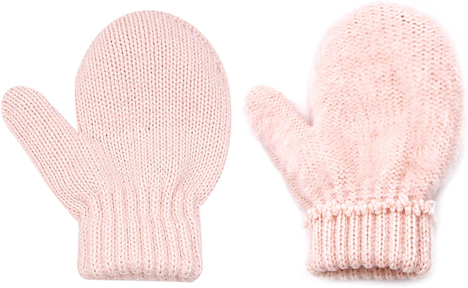 Baby Oklahoma City Mall Warm Mittens Boys Girls Toddler Max 55% OFF Glove Infant Knitted Winter