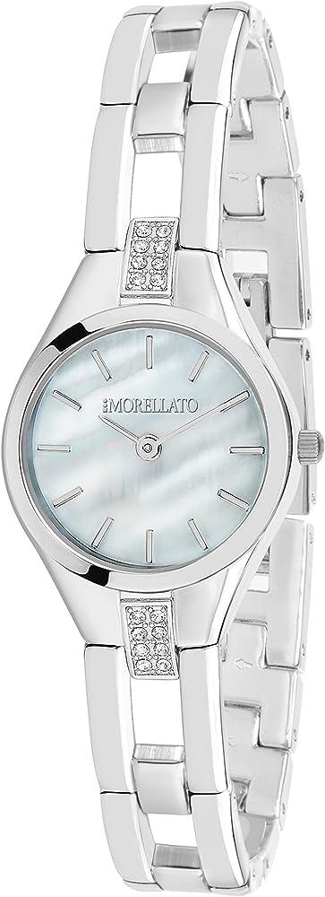 Morellato, orologio analogico al quarzo per donna, in acciaio inossidabile R0153148504