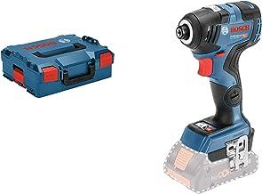 Bosch Professional GDR 18V-200 C Atornillador de impacto, sin batería, 200 Nm, tornillos hasta M16, conectable, en L-BOXX, 18 V, Azul, 9,0