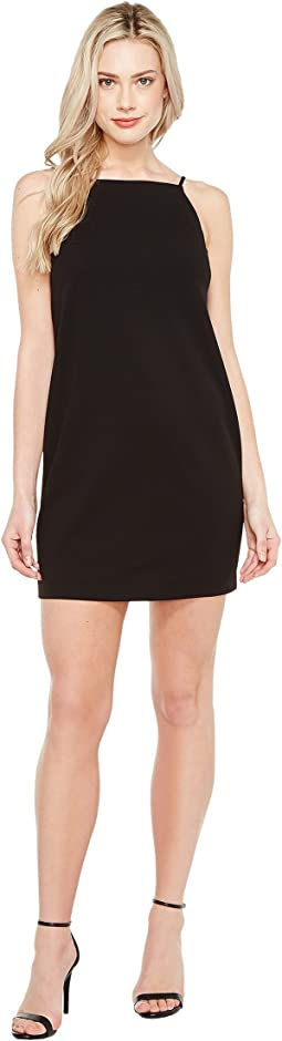 Maggy London Open Back Crepe Scuba Shift Dress