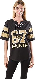 Amazon.com: new orleans saints jersey women
