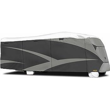 "ADCO 34815 Designer Series Gray/White 29' 1"" - 32' DuPont Tyvek Class C Motorhome Cover"