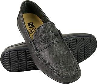 Zerimar Chaussures Bateau en Cuir pour Homme | Grande Taille | Chaussures pour Homme