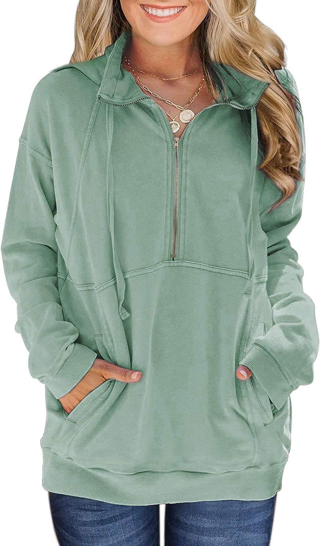Davenil Indianapolis Mall Womens Hoodies Sweatshirts Free Shipping Cheap Bargain Gift Casual Half B Long Sleeve Zip