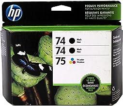 Genuine Hewlett Packard 74/74/75 Threepack Combo CD976FN Electronics