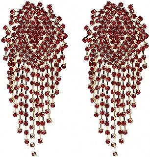 handmade chain earrings