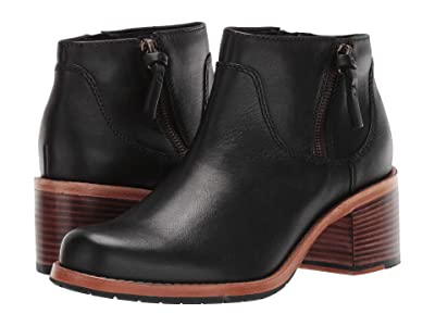 Clarks Clarkdale Dawn (Black Leather) Women