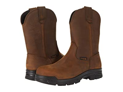 Wolverine Chainhand Steel Toe Wellington (Brown) Men