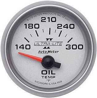 Auto Meter 4948 Ultra-Lite II Electric Oil Temperature Gauge