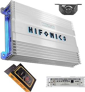 $199 » Hifonics BG-1900.1D Brutus Gamma 1900 Watts Mono Subwoofer Car Audio Amplifier Super Class D Built-in Bass Control, Remote...