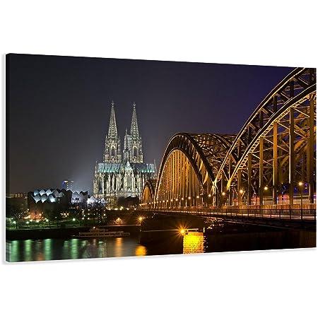 Panoramabild Bild Wandbild Foto  Leinwand  Poster XXL 150cm*50cm 524 Köln