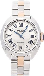 Cartier Cle De Cartier Mechanical (Automatic) Silver Dial Mens Watch W2CL0003 (Certified Pre