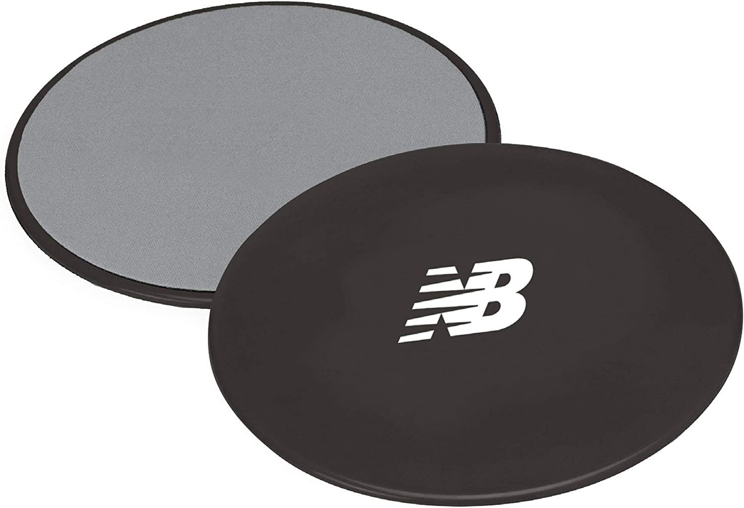 New Balance Core Sliders Workout Gliding Discs - Fitness Ab Sliders Dual-Sided Pads (Carpet/Hardwood Floor)   Home Ab Exercise Equipment for Women, ...