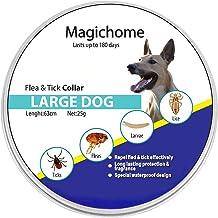 Magichome Collar Antiparasitario para Perros contra Pulgas,