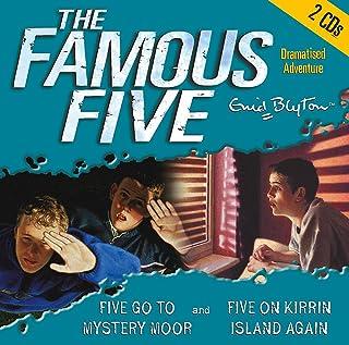 Famous Five: Five Go to Mystery Moor & Five On Kirrin Island Again