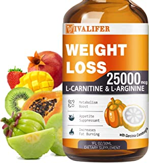 Weight Loss Drops, Keto Diet Drops for Fat Burner, Natural Metabolism Booster and Appetite Suppressant Supplement, Slimmin...