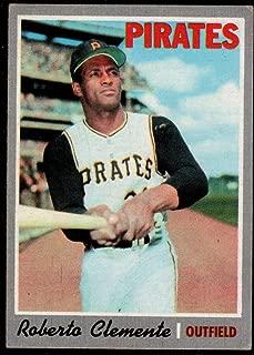 Baseball MLB 1970 Topps #350 Roberto Clemente Pirates