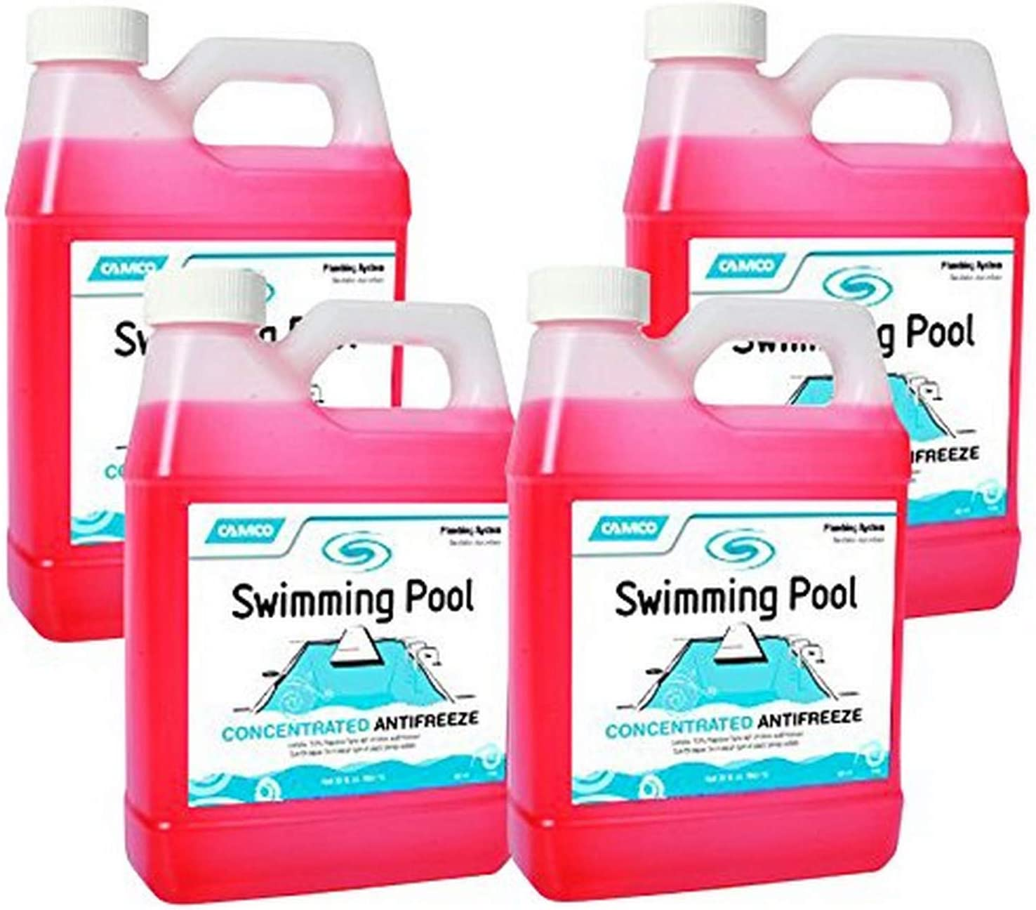 Camco 30054 04 Swimming Pool Concentrated Antifreeze 4 Pack 1 Quart Amazon Ca Patio Lawn Garden