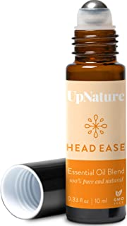 Head Ease Essential Oil Blend – Tension Headache Relief, Soothing– Roll-On, Ready to Use, Pre-Diluted, Aromatherapy, Thera...