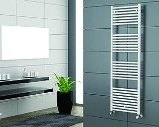 Cordivari Lisa Hydronic Towel Warmer White Straight Italy Design 24''x48'' Radiator