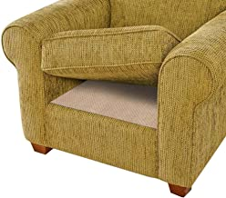 BLS Non-Slip Cushion Underlay Couch Underlay Pad, Keep Your Cushions Stay in The Place for Sofa Upgraded Double Sided Ant...