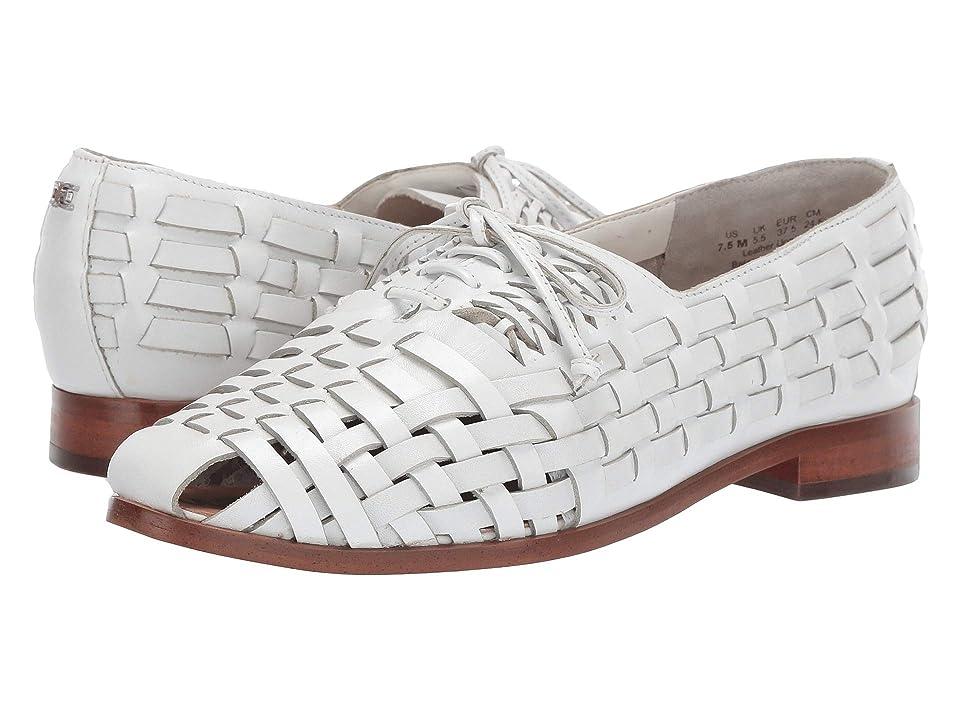 Retro Vintage Flats and Low Heel Shoes Sam Edelman Rishel Bright White Womens Dress Sandals $119.95 AT vintagedancer.com