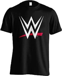 WWE Classic Logo World Wrestling Entertainment Official Tee T-Shirt Mens Unisex