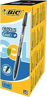 BIC 919235 - Pack de 20 bolígrafos Bic cristal gel