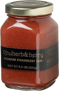 Mountain Fruit Company Rhubarb & Berry - Rhubarb Strawberry Jam (9.5 Ounces)