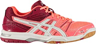 Official Brand Asics Gel Rocket 7 Womens Indoor Court Shoes Trainers Ladies Running Sneakers
