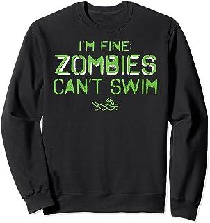 おれはいいゾンビが泳げない Funy Swimmers トレーナー