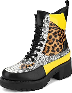 Best yellow lace boots Reviews