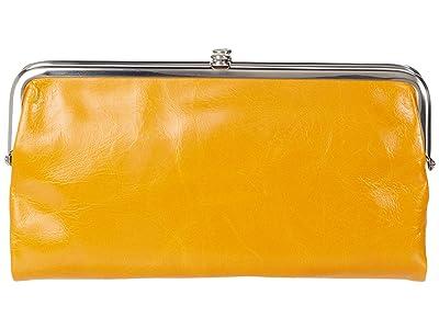 Hobo Lauren (Mustard) Clutch Handbags