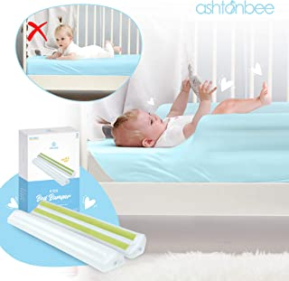 Portable Bed Rail for Toddlers 2 Pack - Inflatable Baby Bumper