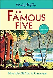 5: Five Go Off In A Caravan by Enid Blyton - Paperback