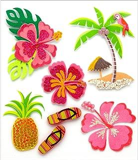 JOLEES 0015586671254 Boutique 3D STCKR Hawaiian JOL BQ JBSG033, Other