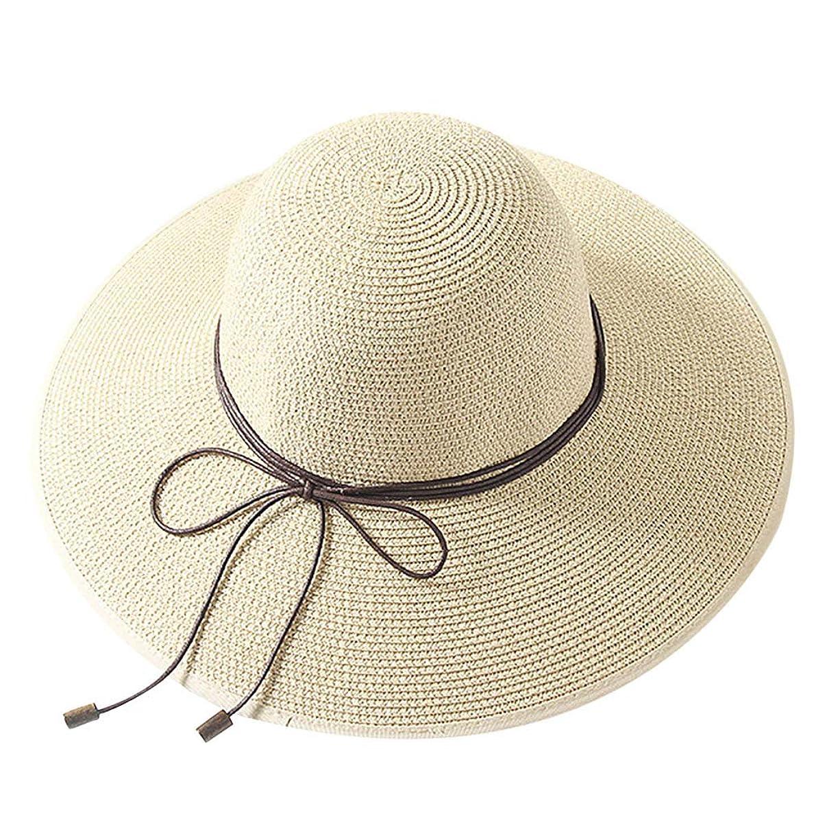 空白見る人ヤギ帽子 レディース 大きいサイズ 日よけ つば広 紫外線対策 小顔効果抜群 カジュアル 森ガール レディース オールシーズン UV 大きいサイズ 折りたためる 小顔効果 漁師帽 ハットラップ ROSE ROMAN